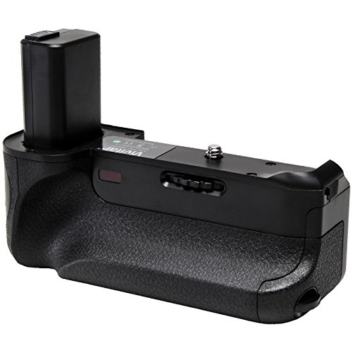 Zeikos Battery Grip - Vivitar Deluxe Power Battery Grip for Sony Alpha A6000 & A6300 Camera with Wireless Remote