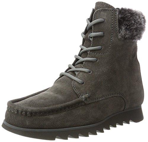 Sioux Women's Grash-d172-32-Wf Moccasin Boots Grau (Asphalt/Schwarz) pM4xe
