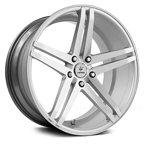 Verde Custom Wheels Parallax Silver Wheel with Machined Face (19x8.5