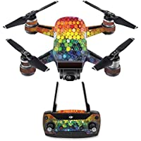 Skin for DJI Spark Mini Drone Combo - Color Me| MightySkins Protective, Durable, and Unique Vinyl Decal wrap cover | Easy To Apply, Remove, and Change Styles | Made in the USA