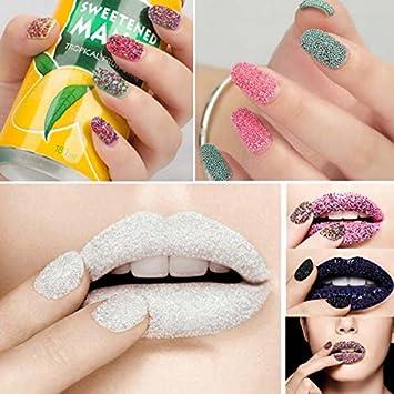 Ducomi® Caviar Nail Art–Kit de perles métallisées décoratives pour ongles décoration pour manucure et pédicure–Idéal pour Nail Art et maquillage