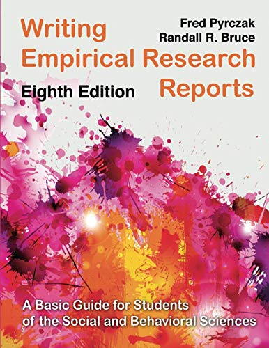 Writing Empirical Research Reports (A Writing Report)