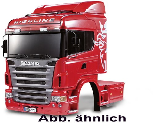 Tamiya #56514 1/14 R/C Tractor Truck Scania R620 6x4 Highline Body Set for Tamiya 1/14 Truck Scania R620 ()