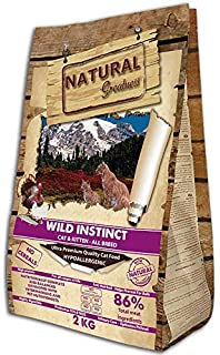 Natural Greatness Sensitive Indoor Alimento Seco Completo para Gatos - 2000 gr: Amazon.es: Productos para mascotas