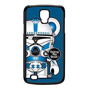 CloneTrooper Blue Black Hard Plastic Case for Galaxy S4 Active by Gangtoyz + FREE Crystal Clear Screen Protector