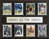 MLB San Diego Padres All-Time Greats Plaque