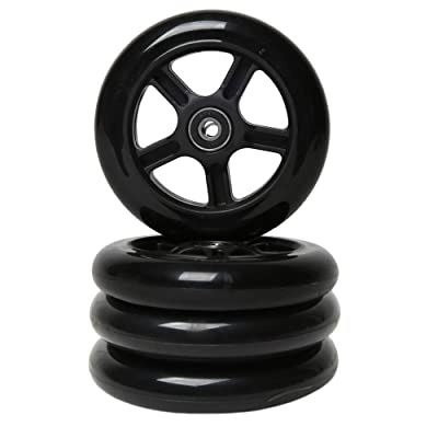 FREEDARE Scooter Replacement Wheels with Bearings 4PCS : Sports & Outdoors