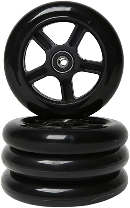FREEDARE Scooter Replacement Wheels with Bearings 4PCS