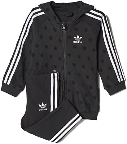 adidas Originals Baby Infant Originals Trefoil Hoody and Pant Set