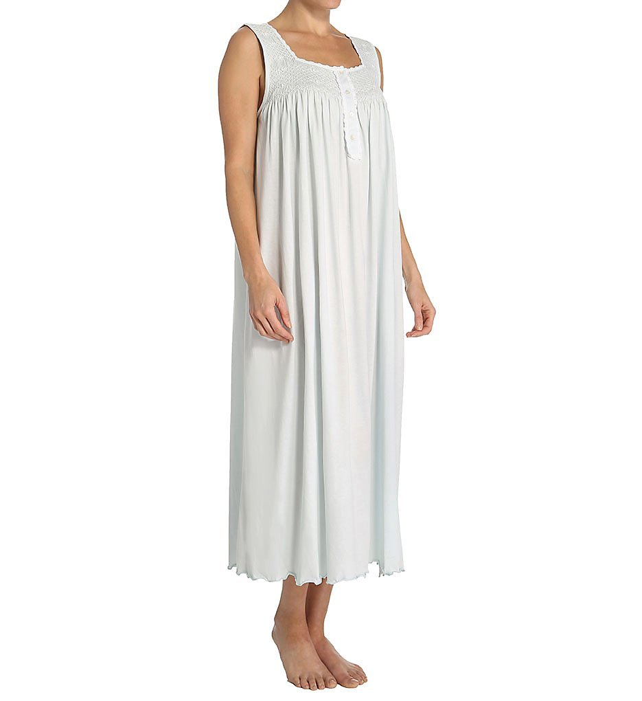 P-Jamas Lucero Ankle Length Nightgown (Lucero) L/Blue