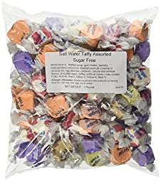 Sugar Free Assorted Salt Water Taffy 1lb