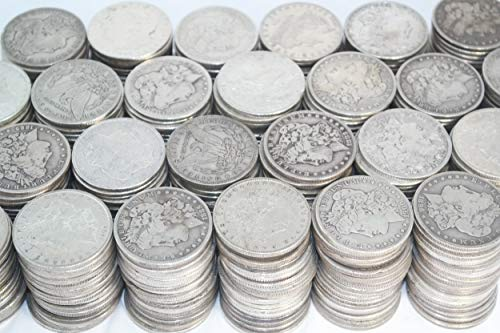 1878-1904 Silver Morgan Dollar (1) Coin $1 Average -
