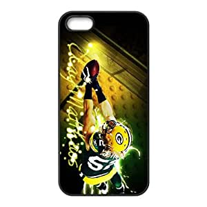 Green Bay Packers iPhone 5 5s Cell Phone Case Black 218y3-188218