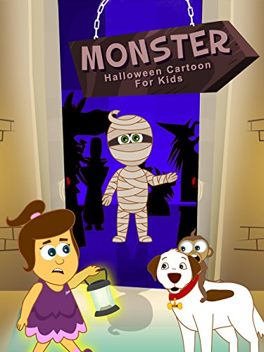 Monster- Halloween Cartoon For Kids -