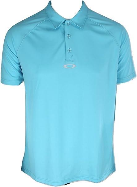 Oakley Bunker Basic Polo Golf Shirt, illumination Blue, Size M ...