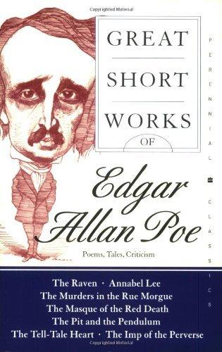 Download By Edgar Allan Poe - Great Short Works of Edgar Allan Poe: Poems Tales Criticism (Perennial Classics) (8/29/04) pdf epub