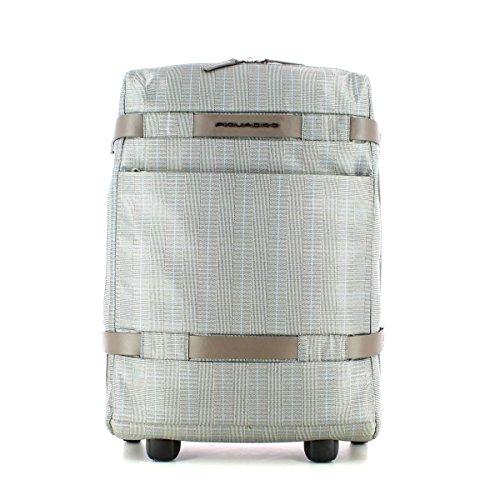 Piquadro Move 2 Zaino Portabilità a Trolley, Sintetico, Prince/Tortora, 48 cm