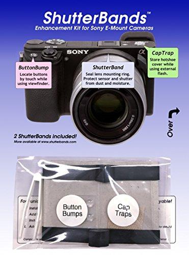 - ShutterBands Enhancement Kit for Sony E-Mount Cameras
