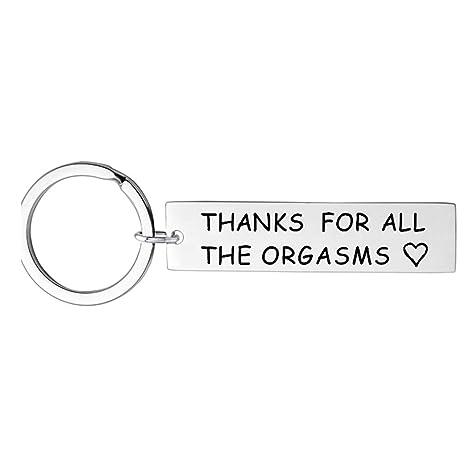 LIXIAQ1 Divertido llavero para novio, marido, gracias por ...