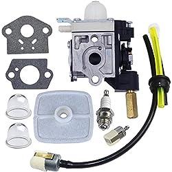 HUZTL Carburetor with Fuel Maintenance Kit Spark Plug for ECHO GT200 GT201i HC150 HC151 PE200 PE201 PPF210 PPF211 SRM210 SRM211 Trimmer / Brushcutter