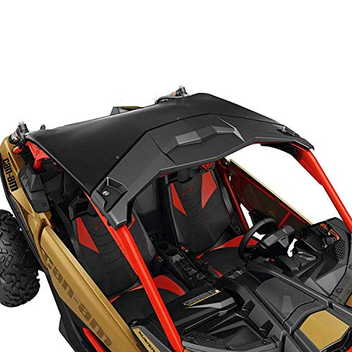 (Can-Am New OEM Maverick X3 Black Bimini Roof with Sun Visor, 715002901 )