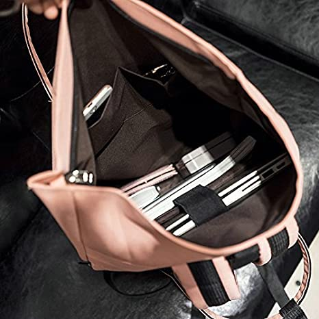 0fc66d161bdb Amazon.com: Samitime New Laptop Bag Backpack USB Chargin School Bags ...