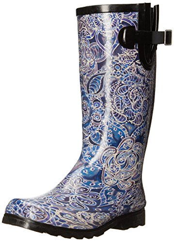 Nomad Women's Puddles Iii Rain Boot, Blue Indigo, 7 M US ()