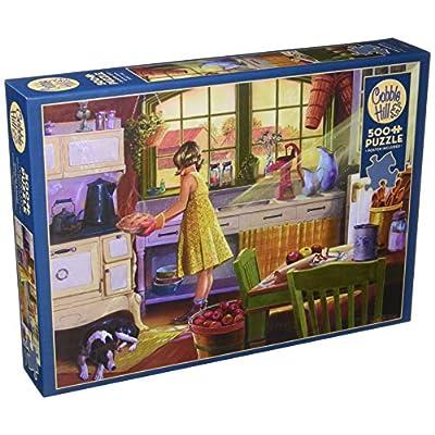 Cobblehill 85016 500 Pc Apple Pie Kitchen Puzzle Vari