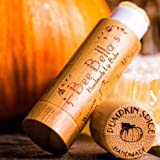 Handcrafted Organic Pumpkin Spice Lip Balm (4 Pack) by Bee Bella