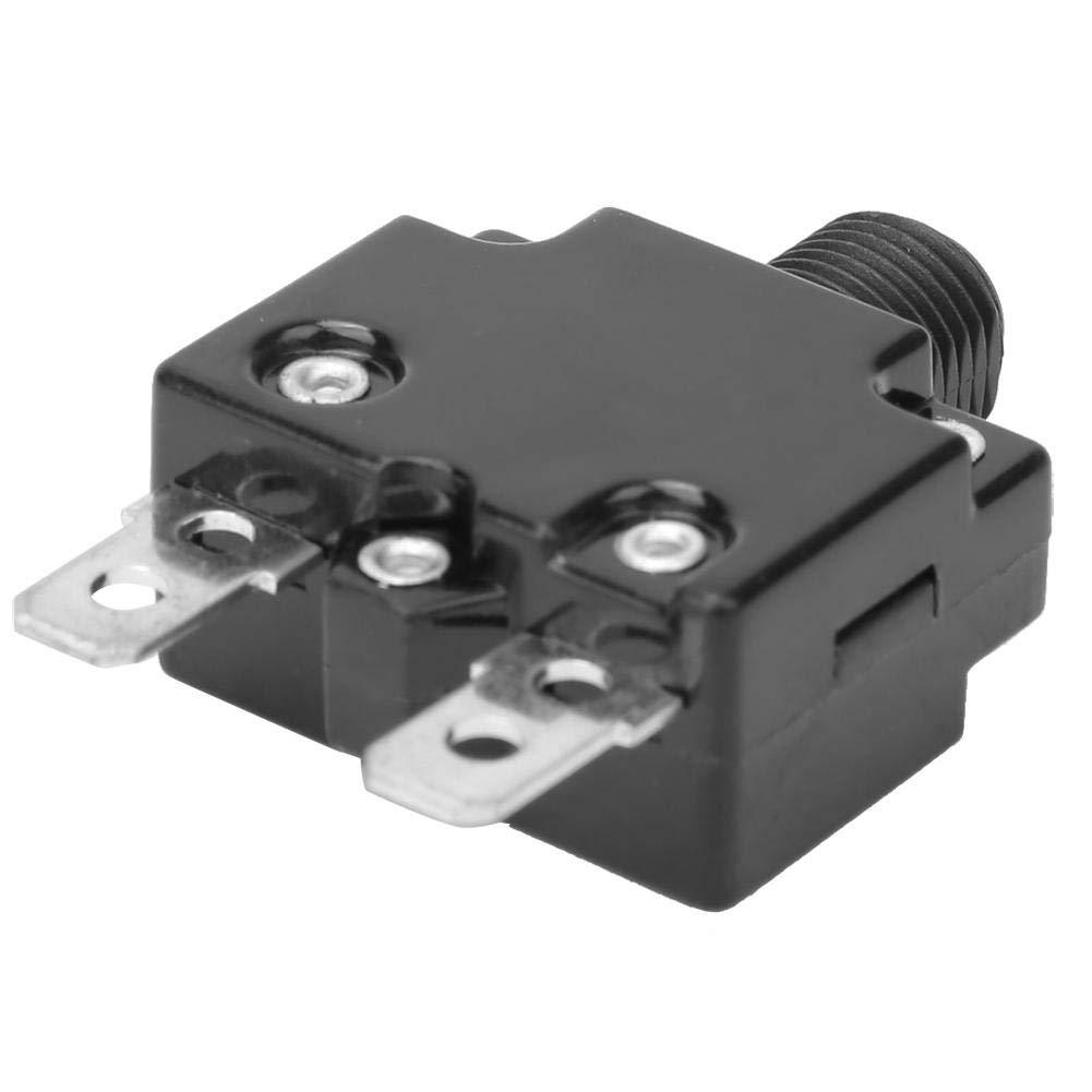 6A 5 piezas Compresor de aire Interruptor de circuito Protector de sobrecarga t/érmica Protector de sobrecarga Interruptor de circuito Interruptor de protecci/ón de corriente para generador