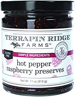 product image for Hot Pepper Raspberry Preserves by Terrapin Ridge Farms – One 11 oz Jar