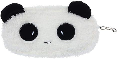 YANGPP Plush Fluffy Panda Coin Pencil Bag Pouch Case Pack Colgantes Estuches Monedero Monedero Monedero Pequeño Y Lindo Mujer: Amazon.es: Deportes y aire libre