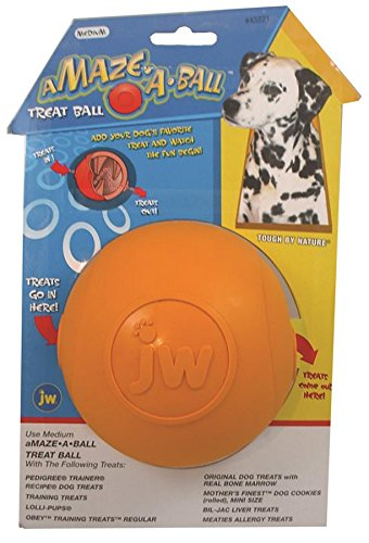 JW Pet Company Treat Puzzler Dog Toy, Large (Colors Vary) (Jw Pet Dog Treats)
