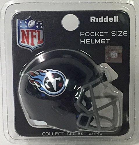 Tennessee Titans Riddell Speed Pocket Pro Football Helmet - 2018 Logo - New in package ()