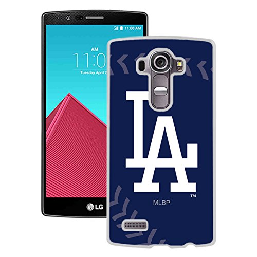 Eocy Custom Phone Case For LG G4,Los Angeles Dodgers Phone Cover White