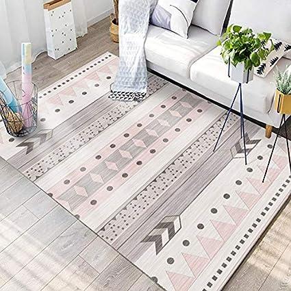 JIFAN Tapis, Chambre De Fille Tapis Doux Enfant Tapis Antidérapant Nordic  Moderne Simple Couverture Chambre À Coucher Creative Pad Salon Fibre Mat ...
