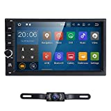 Kyпить Standard Double 2 Din Android 7.1 In Dash Car Stereo Radio GPS Navigation Support 4G WIFI Bluetooth Mirrorlink with Rear Camera на Amazon.com