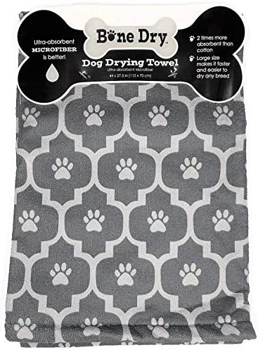 Grey Drying Towel Microfiber 27 5inches product image