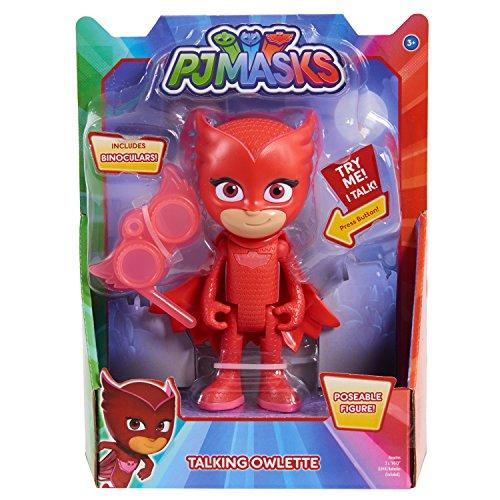 Pjmasks Deluxe Talking Figure-Owlette, Red