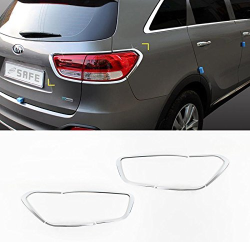 Sell by Automotiveapple, K599 SAFE Chrome Rear Lamp Molding Trim Garnish 6-pc Set For 2016 Kia Sorento : ALL NEW SORENTO
