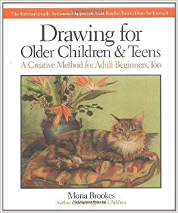 drawing for older children teens mona brookes geraldine schwartz phd 9780874776614 amazoncom books - Drawing Books For Children