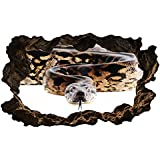 3D Wandtattoo Python Schlange Reptil Kriechtier Bild selbstklebend Wandbild sticker Wohnzimmer Wand Aufkleber 11H972, Wandbild Größe F:ca. 140cmx82cm