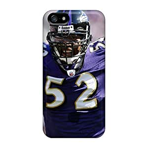 New Case Baltimore Ravens Fashion Tpu 5/5s case cover For Iphone NANikAwo0zu