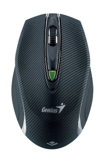 Genius 2.4 GHz 1600dpi Laser Mouse for glass surface (Traveler 9010LS)