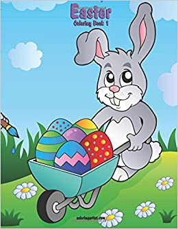 Easter Coloring Book 1 Volume Nick Snels 9781505784527 Amazon Books