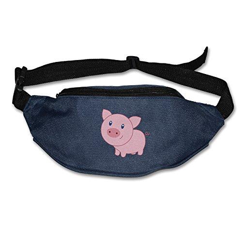 Cute Cartoon Pig Fanny Pack Waist Bag Waist Pack Navy ()