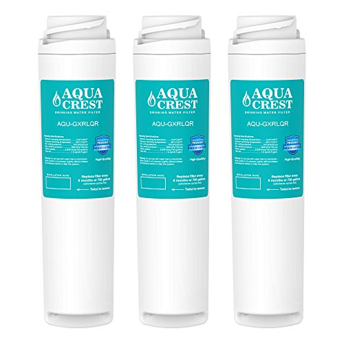 AQUACREST GXRLQR Replacement for GE SmartWater Twist and Lock In-Line GXRLQR Water Filter(Pack of 3)