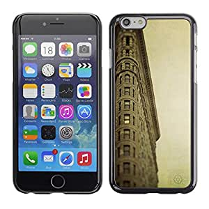 Be Good Phone Accessory // Dura Cáscara cubierta Protectora Caso Carcasa Funda de Protección para Apple Iphone 6 // Architecture Retro Ligthouse Sea