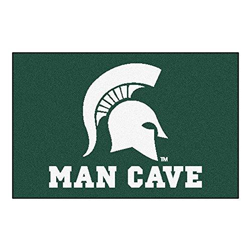 Fanmats 14568 Michigan State University Nylon Universal Man Cave Starter Rug Michigan Starter Rug