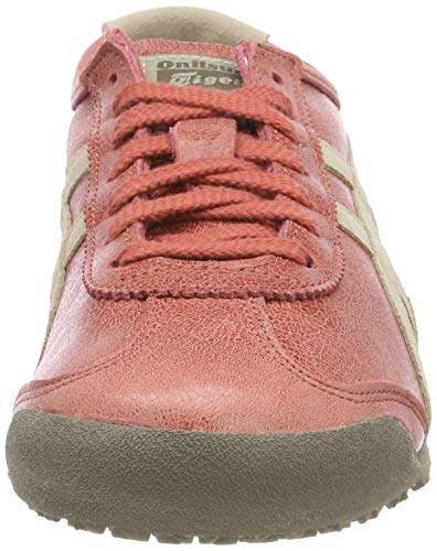 red Asics feather Chaussures 66 Messico 600 Fitness Rouge Brick Grey De Mixte Adulte qSFa8qOT